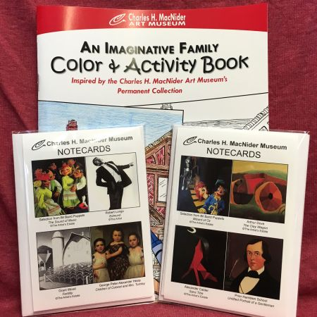 Museum Coloring Book & Notecards