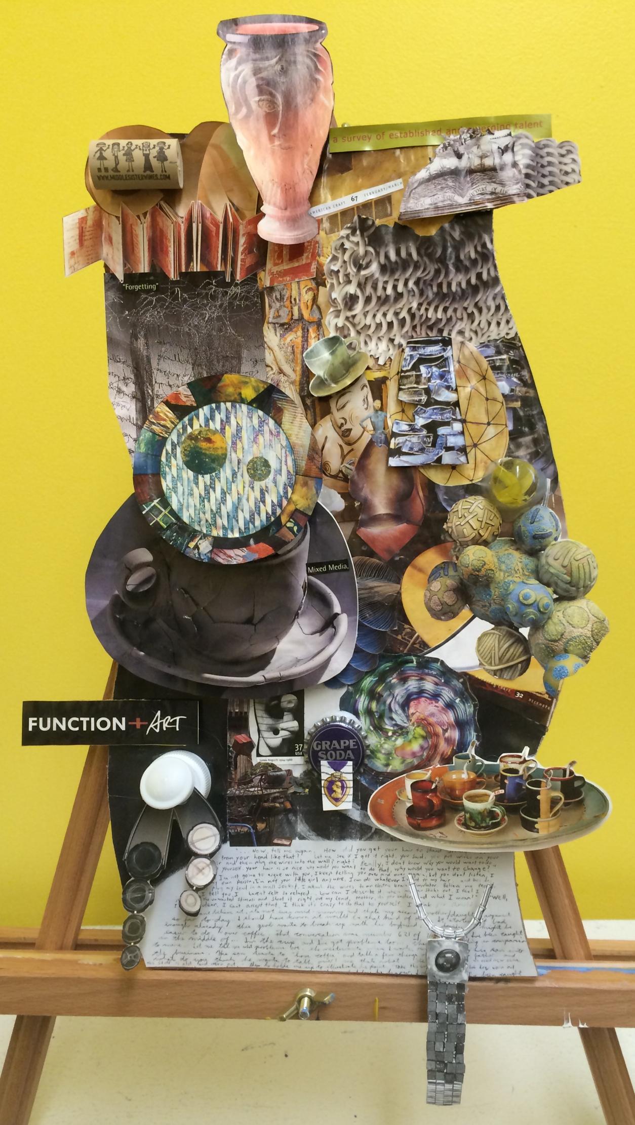 3d collage charles h macnider art museum. Black Bedroom Furniture Sets. Home Design Ideas