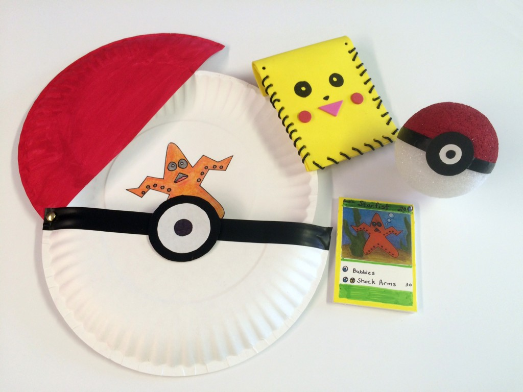 pokemon crafts charles h macnider art museum