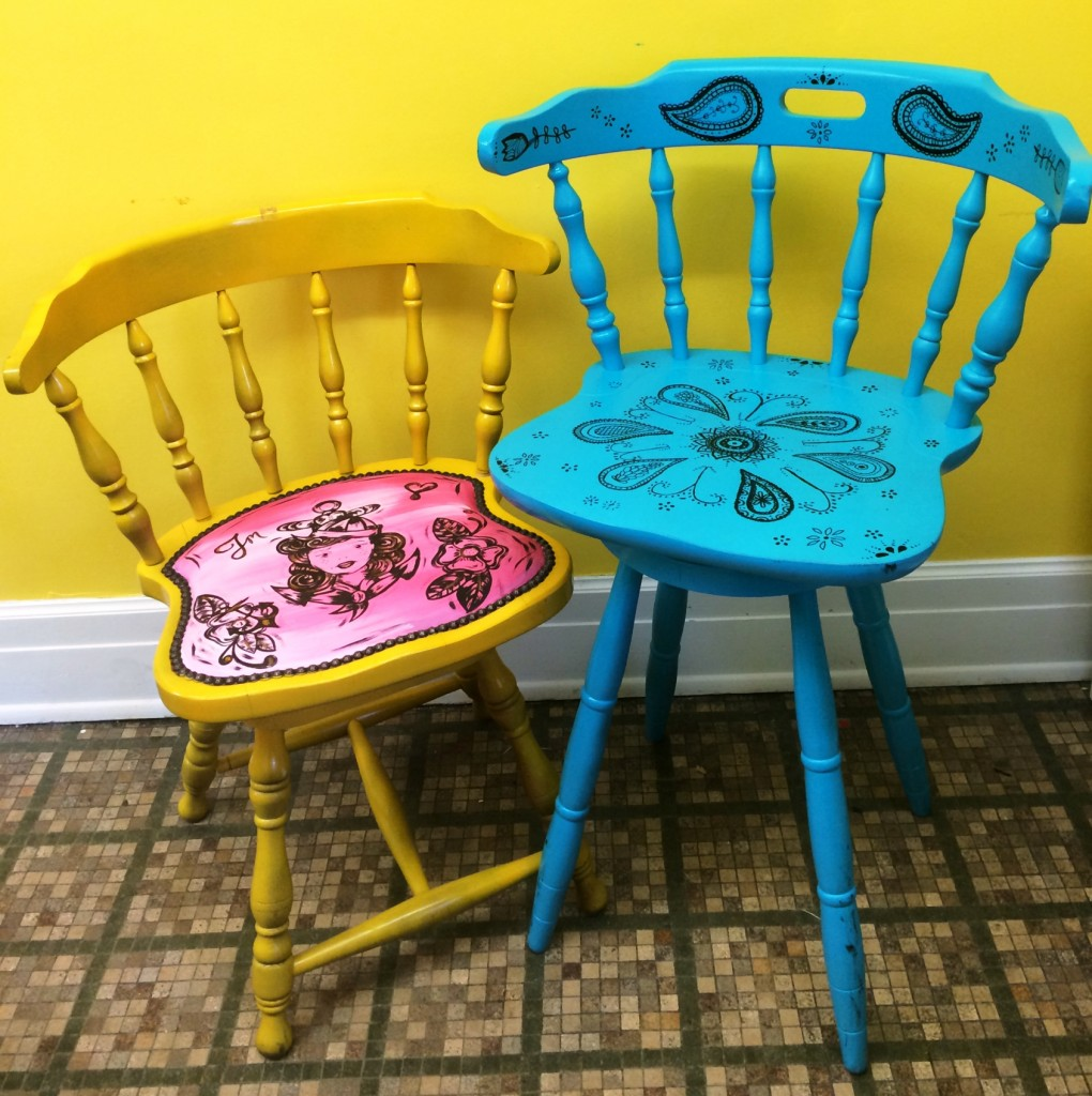 Whimsical Chairs Charles H Macnider Art Museum