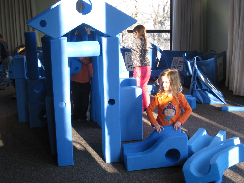 Imagination Playground inside
