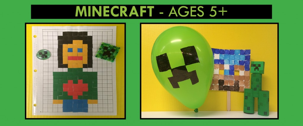 mine craft birthday theme