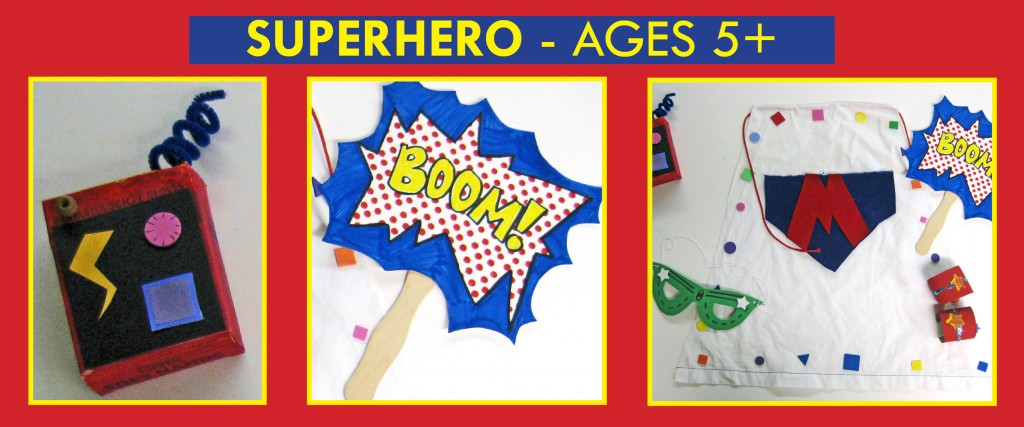 superhero birthday theme