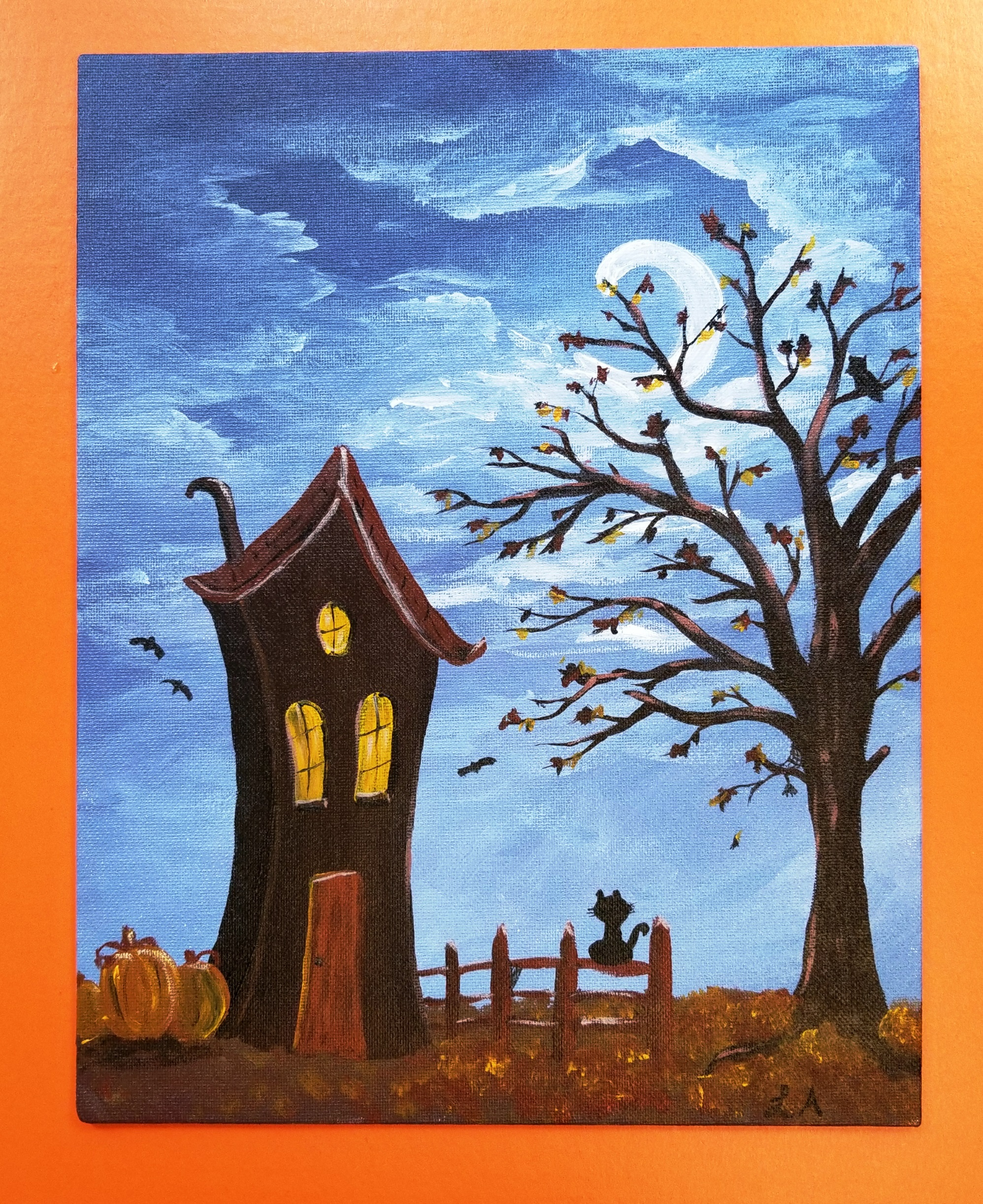 Halloween Canvas Painting