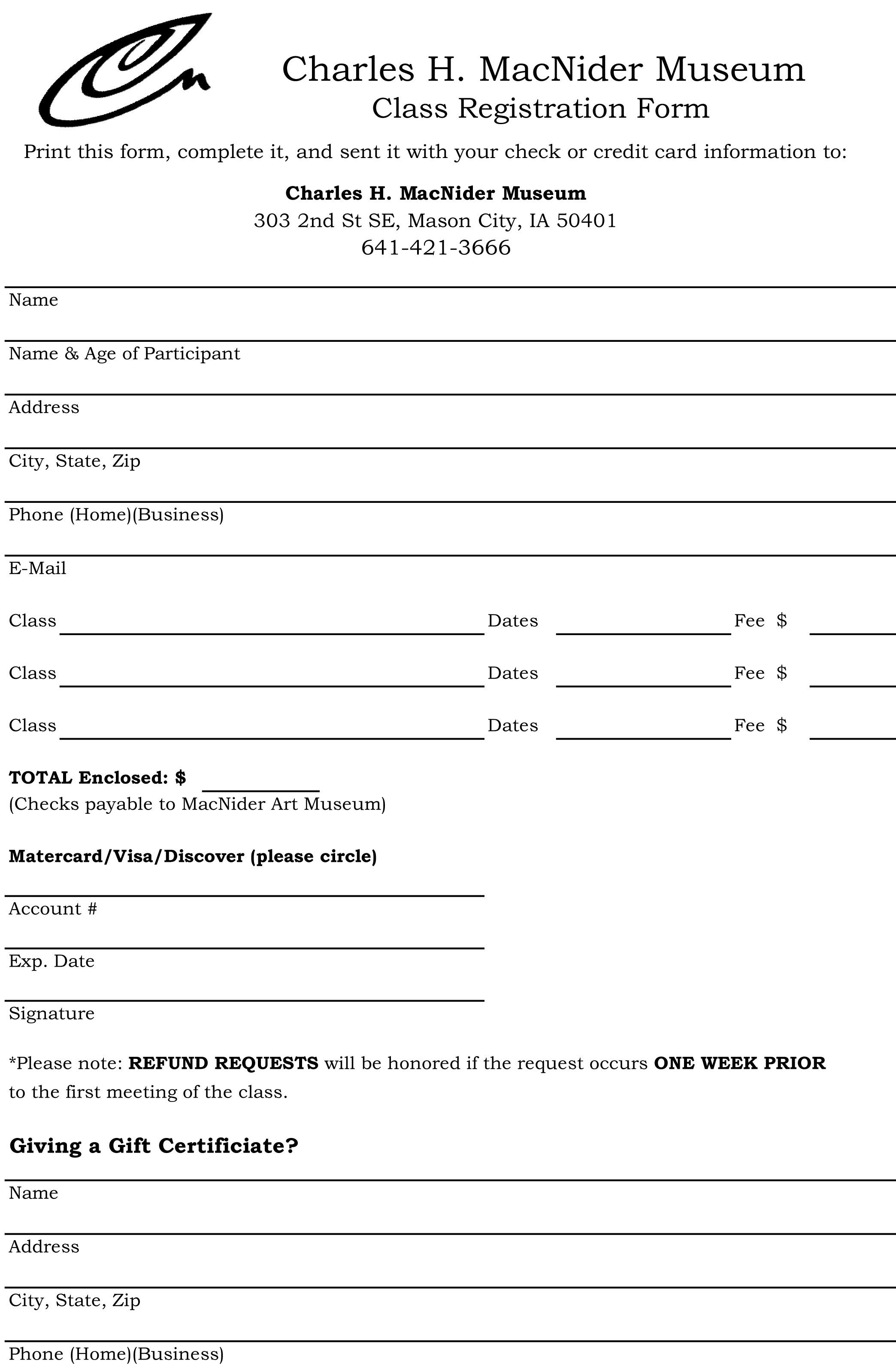 Class Registration Form.xls