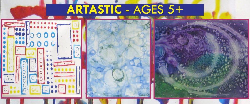 artastic birthday theme
