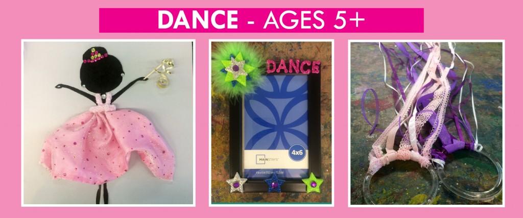 dance birthday theme