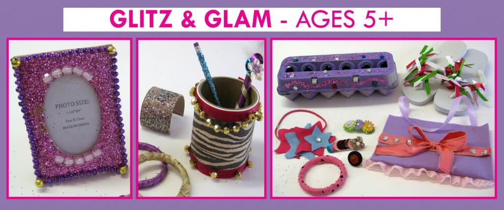 glitz glam birthday theme