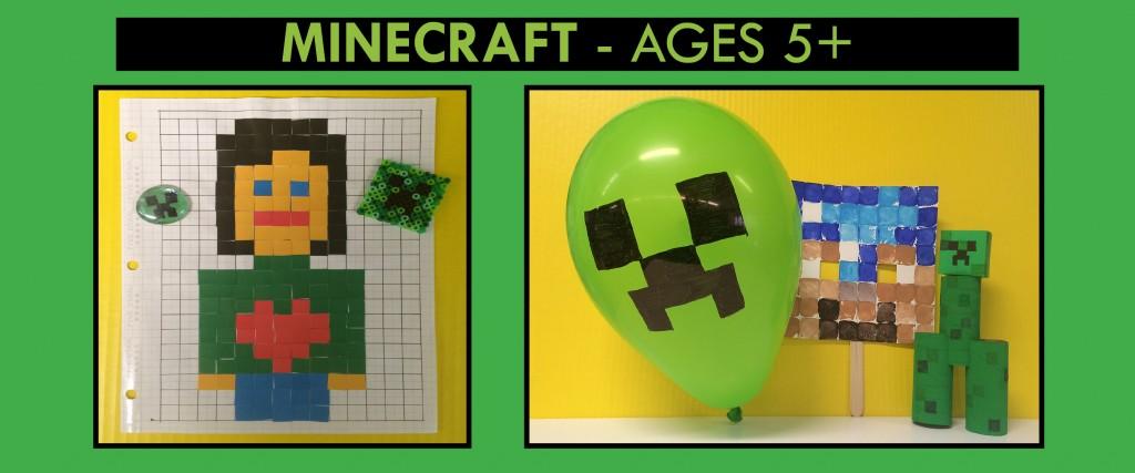 mine craft birthday theme